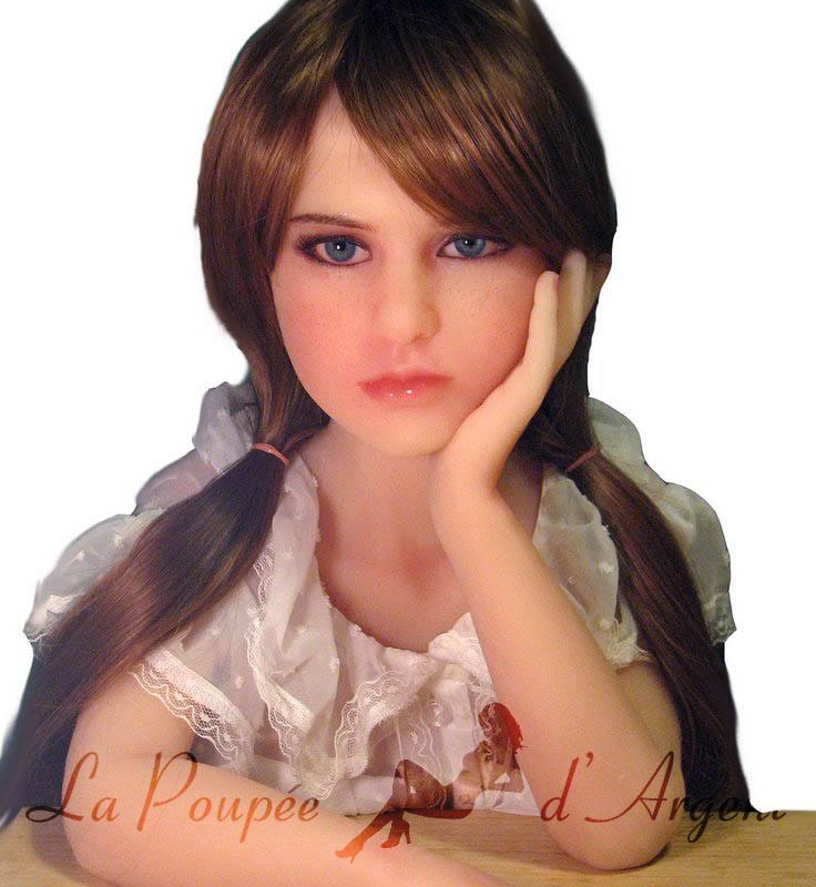 JM Doll 105cm Mini Poupée Sexuelle avec Cou Continu - La