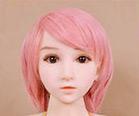 WM Dolls 100cm Perruque Rose